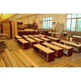 Quarto de hotel do mobiliário de madeira de cerejeira roupeiro com mini-bar (SW-02)