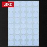 Индивидуальные низкая стоимость круглый наконечник коричневый DOT Self-Adhesive наклейка этикетки