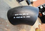 이음새가 없는 탄소 강철 ASTM A234 Wpb 관 이음쇠 팔꿈치