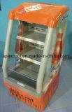 Refrigerador aberto de Shunde para a solução do supermercado