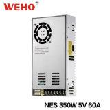350W 5V 50A Schaltungs-Stromversorgung Nes-350-5