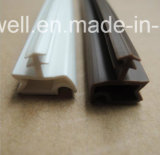 Tira de madeira do selo de porta do PVC