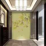 Яркая бумага стены с цветками