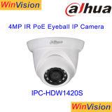 Macchina fotografica esterna dell'interno Ipc-Hdw1420s del CCTV di obbligazione del IP di Dahua 4MP Poe