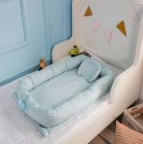 Greppia infantile del bambino del cotone molle comodo con il cuscino