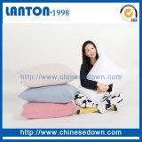Las plumas del ganso/del pato de la venta al por mayor de la fábrica de China abajo llenan el amortiguador de la almohadilla