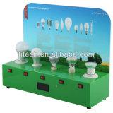 O caso do programa demonstrativo com medidor de potência, indica 5 lâmpadas