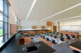 Hot vendre 4FT 40W raccordables au plafond de l'architecture moderne et lumineux à LED linéaire de poignée de commande de suspension de Lamp Lighting Fixture 4600lm de lumière blanc 5000K