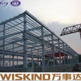 Medidor de luz de alta resistencia Estructura de acero del bastidor de almacenes prefabricados