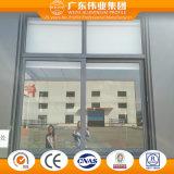 Finestra di scivolamento personalizzata di progetto con singolo vetro Tempered