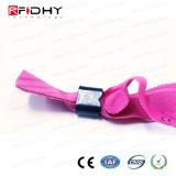Wristband tejido respetuoso del medio ambiente al por mayor de RFID para los items del acontecimiento