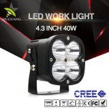 Comercio al por mayor 4.3inch inundación Spot Combo Offroad 12V de luz LED de trabajo