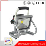 Indicatore luminoso di inondazione potente ricaricabile superiore di 20W LED