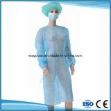 Одноразовые SMS нетканого материала стерильным больницы изоляции платье