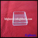 Fornitore del contenitore di vetro di quarzo fuso della radura di resistenza termica