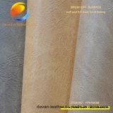 Il nuovo materiale del pattino di modo del cuoio sintetico dell'unità di elaborazione con spazzola fuori l'effetto Fpa16A5b