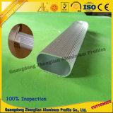 Tube carré en aluminium stocké par approvisionnements en aluminium de la Chine Manufacturs