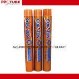 Esvaziar o tubo de embalagens de alumínio dobrável para enchimento de creme de cor de cabelo