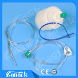 PVC Closed Wound drainage system Hollow