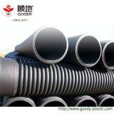 Tubo di drenaggio di scarico dell'acqua di bobina della parete della cavità dell'HDPE del PE