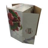 버찌 과일 포장을%s 강한 질 주문품 물결 모양 상자