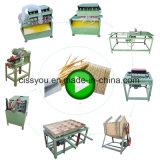 La vente de bambou cure-dents Stick rendant la production Ligne de la machine
