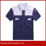 Uniforme de trabalho barato por atacado dos vestuários da fábrica (W75)
