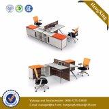 Forniture di ufficio di legno della stazione di lavoro moderna delle 4 sedi con il Governo (HX-TN158)
