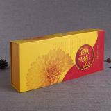 Kundenspezifischer gewölbtes Papier-Tee-verpackenkasten-Versatz gedruckter chinesischer Tee-Geschenk-Kasten