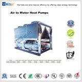 Compressor de parafuso arrefecidos a ar bombas de calor para uso comercial