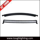 Resistente al agua 12V 40en 240W curvo Fila doble barra de luces LED CREE Offroad 4X4