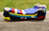 De hete Verkopende Vlag van de Kop van de Wereld mept de Mensen van de Katoenen Sokken van de Enkel
