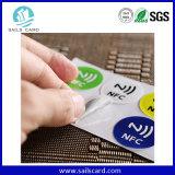 El papel de cobre Ntag216 Adhesivo Nfc etiqueta RFID