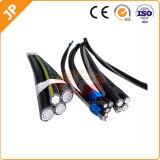 Kabel van de Daling van de Dienst van de Leider van het aluminium Triplex Lucht Gebundelde