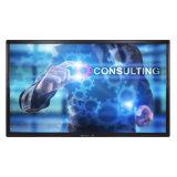 10 касания пунктов индикаторной панели экрана для рекламы образования