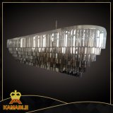 Herrlicher und Luxuxeffekt-hängendes Kristalllicht für Hotel (KR0262P-8)