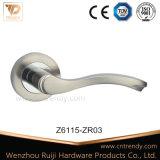 Maniglia in lega di zinco, maniglia di portello di legno impostata (Z6095-ZR11)