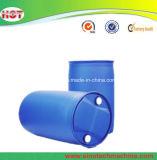 Machine automatique de soufflage de corps creux d'extrusion de baril en plastique bleu/extrudeuse en plastique