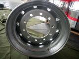 22,5 X11.75 высококачественный стальной колесный диск, бескамерные стальное колесо, бескамерные шины колеса погрузчика стальные колеса и колесные диски