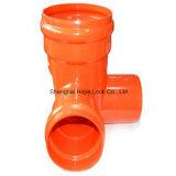 Encaixes de tubulação do T do PVC com alta qualidade e Multi-Especificação