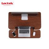 Loctek Mt105al 새로운 인간 환경 공학 사무실 고도 조정가능한 컴퓨터는 대 테이블 책상 라이저를 앉는다