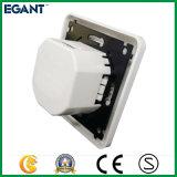 Vollständige Verkaufs-Fabrik-Lieferant USB-Wand-Kontaktbuchse mit Doppel-Ports