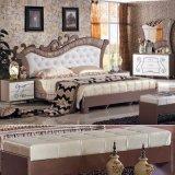 Mobilia antica della camera da letto con la base classica per mobilia domestica (3392)