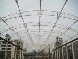 Hangar prefabricado de los aviones de la estructura de acero del marco del espacio
