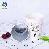 Taza de papel del té caliente de la venta con la impresión de encargo