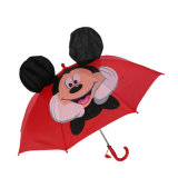 普及した創造的な子供のカスタム漫画パターンが付いている動物の印刷の子供の傘