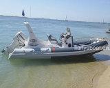 Barcos inflables Hypalon de la costilla de Liya 20feet China con el motor