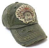 流行のカスタム洗浄パッチの刺繍のロゴの帽子