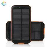 La Banca portatile di potere del caricatore 10000mAh della pila solare con la bussola