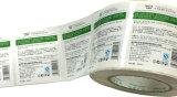 Impressão directa personalizada etiqueta térmica impermeável